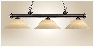 Lampes de table de billard pour une meilleure exp rience de jeu claire de salle de jeux et de - Lampe pour table de billard ...
