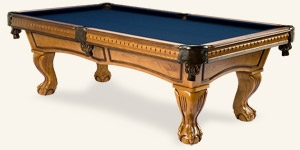 Photo de la table de billard Pinnacle Miel