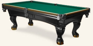 Photo de la table de billard Pinnacle Deux Tons